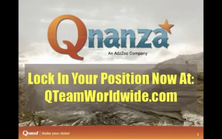 Qnanza Business Opportunity with Richard Simpson - Part 1