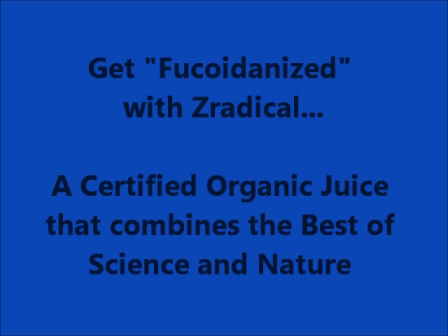 Zradical Fucoidan Enriched Juice