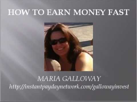 HOW TO EARN MONEY FAST-Learn How To Earn Money Fast!