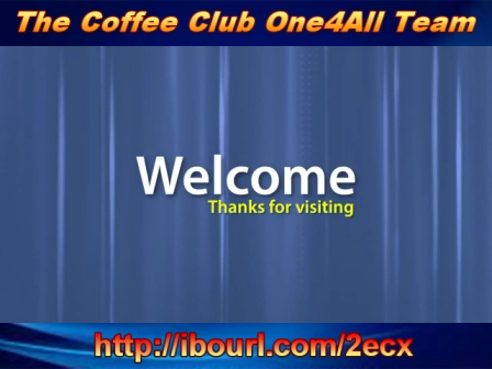 The Coffee Club FreeToolBox Intro and Pay plan!