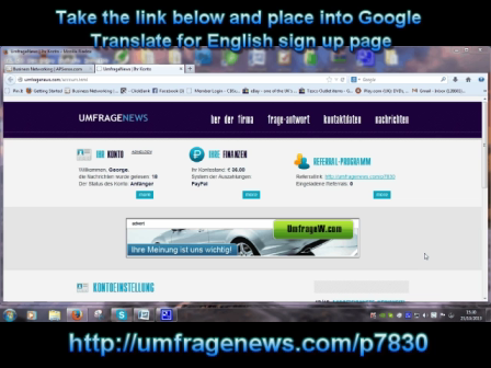 Unfrage News Free Money