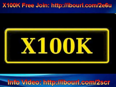 X100K The Lion King of all Wealth Programs!