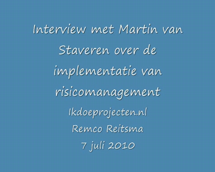 Succesvol implementeren van risicomanagement