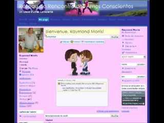 Réseau de Rencontre des Âmes Conscientes : parametre et blogue, vidéo 5/10