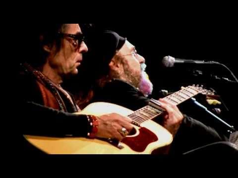 """Earl Slick and Mark Hudson do """"I'm Losing You"""" @ John Lennon's 70th birthday celebration for Amnest…"""