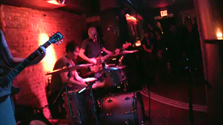 """Gavin DeGraw's AMAZING Band @ his bar, The National Underground """"WHIPPIN POST"""" 11/16/09Guitar: Billy Norris. Drums: Rodney Howard. Bass: Tony Tino"""
