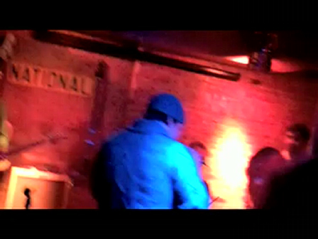 "GAVIN DeGRAW in the house....Marvin Gaye's ""LET'S GET IT ON""@The National Underground his bar, 11/20/09 with Isabella Lundgren, Shot on FlipVideo"