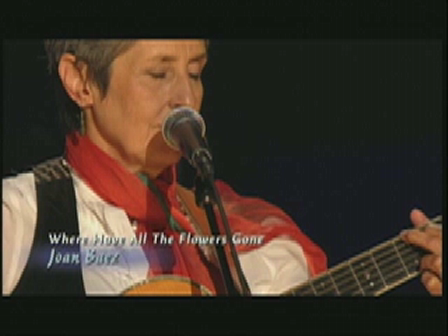 "Joan Baez ""Where Have All the Flowers Gone?"" Pete Seeger's 90th birthday"