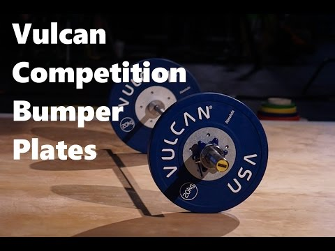 Vulcan Strength Competition Bumper Plates
