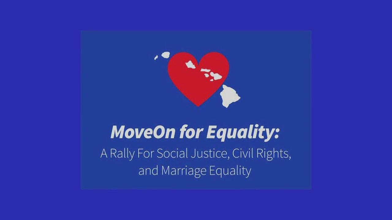 MoveOn For Equality Rally