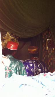 Mesbak (graduel) dans une église rurale du Tigré (Ethiopie)
