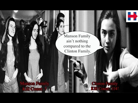 CLINTON CRIME FAMILY SERIAL KILLERS