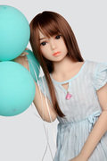 100CM TPE Doll Flat Chest Japanese Girl Akumi Hakumi