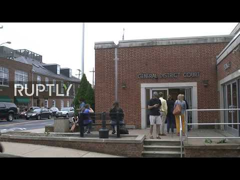 LIVE: Suspected driver in Charlottesville car attack attends court hearing
