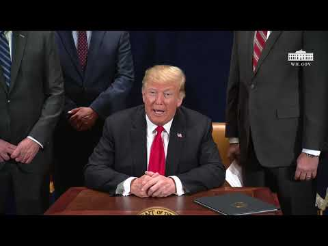 President Trump Signs a Presidential Memorandum to nullify dessicant super drying effects of Chemtrails. Water to be routed directly to Chemtrails induced Drought  areas of West Coast.