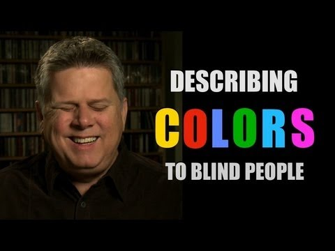 Describing Colors To Blind People