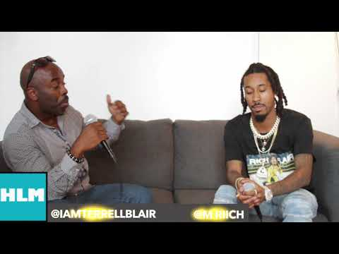 M Riich Interview By Terrell Blair -  He Talks About His New Album R$CH Flair