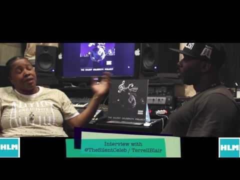 New Video: Terrell Blair interviews R&B artist The Silent Celeb