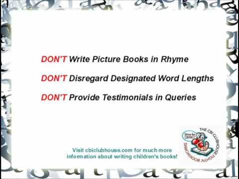 Writing Tips: 4 Rules Beginning Children's Book Writers Should Never Break
