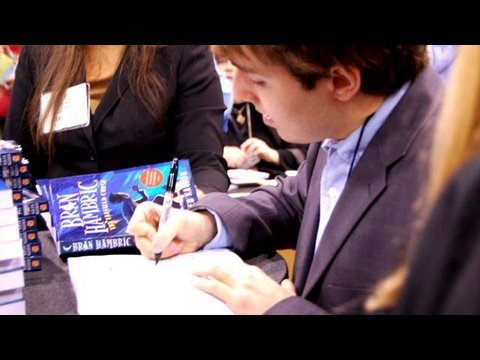 A Young Author's 1st Book Signing