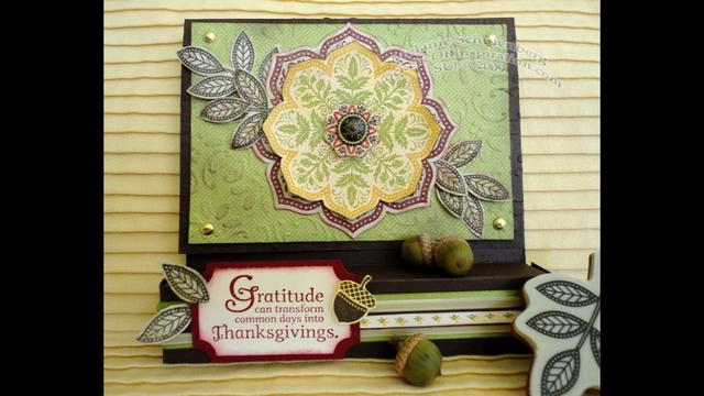Gratitude Medallion treat box card