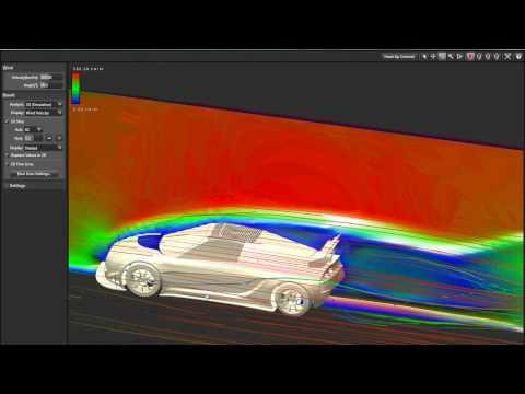 Autodesk Alias Design Falcon Hansen GTR Flow Analyse