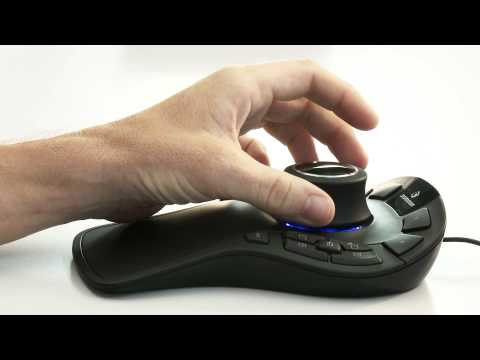 Using a 3D Mouse in Autodesk Inventor - Correct Technique