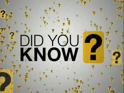 Did You Know? - Research & Design by Karl Fisch, Scott McLeod & Jeff Brenman