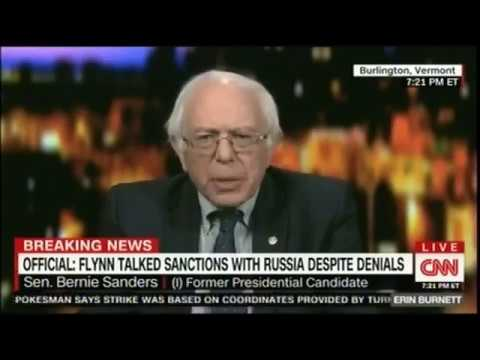 Sanders Jokes That CNN is Fake News, Then Contact is Lost