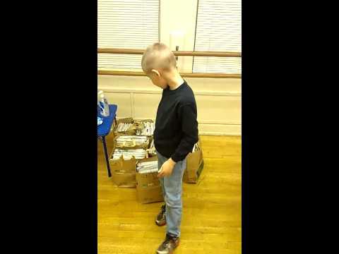 Joe Bogdan paper folding party 3