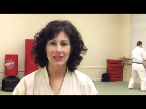 Dojo Mom - Susan at Zen Martial Arts in Sacramento