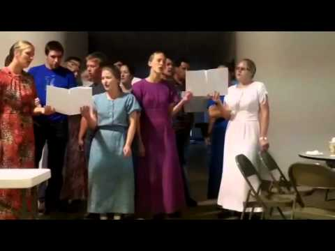 Gift on Song at the Mennonite Church #2