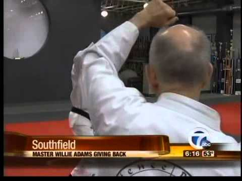 Hanshi Willie Adams Reaches out to his Community