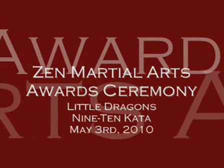Awards May 2010 Little Dragons 2