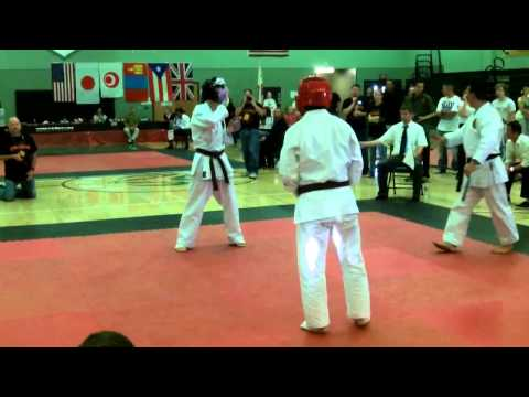 Ryukukan US International 2013 Women's Semi-Knockdown Advanced Finals