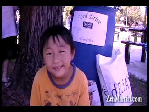 Karate Kids Practice Compassion
