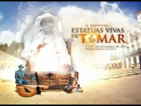 Spot II Festival Estátuas Vivas de Tomar 2011.flv