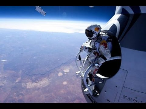 Felix Baumgartner - Red Bull Stratos -  Space Jump [Full Video] HD