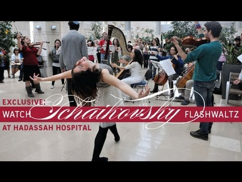 TCHAIKOVSKY - Flashwaltz no Hadassah Hospital