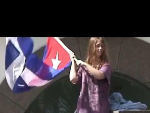 Concentración frente a Consulado de Cuba en Las Palmas