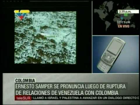 Venezuela-Colombia. Opinion de Samper
