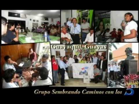 GRUPO SEMBRANDO CAMINOS CON LOS CINCO/ ECUADOR- Parte I / De Tulcán a Guayaquil.
