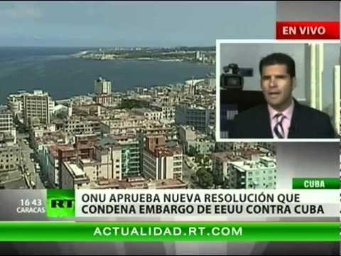 La ONU condena el embargo a Cuba por parte de EE.UU.
