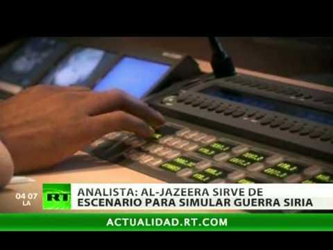 """""""Al Jazzera ayuda a simular una guerra en Siria"""""""