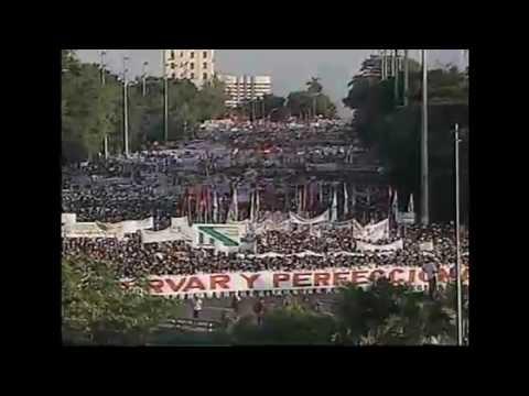 Celebración en Cuba del Primero de Mayo, Día Internacional de los Trabajadores