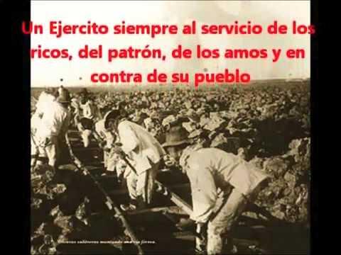 Pancho Calama denuncia -vídeo- El ejercito de chile y las masacres a su pueblo