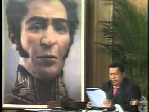 Pdet Chávez recitó el Canto a Bolívar de Pablo Neruda ante rostro del Padre de la Patria.