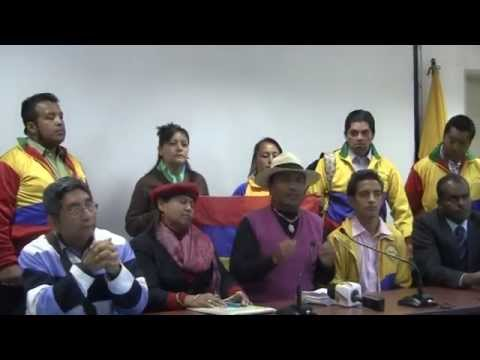 Rueda de prensa de Organizaciones Sociales, apoyan al Gobierno de la Revolución Ciudadana