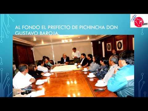 Fotos de la reunión del Prefecto de Pichincha con  dirigentes del sur de Quito
