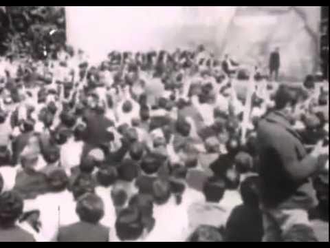 Mitin de París del PCE, 1971.